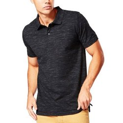 Cotton Collar Mens Plain Polo T Shirt