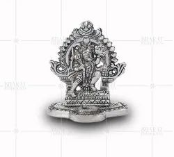 Silver Plated Small Hanuman Idols