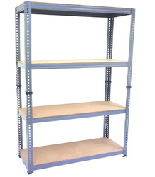 Grey Steel Storage Rack