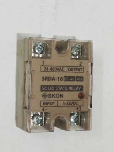 16 Amp Ssr Solid State Relay Dc To Ac Input 5 32vdc Output 24 480vac
