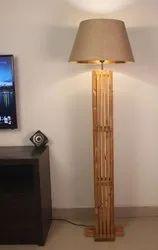 Symplify Interio Elegant Wooden Floor Lamp