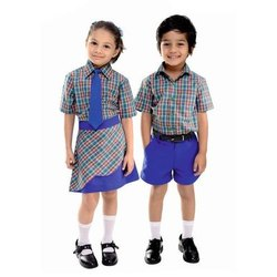 Summer Cotton Kids School Uniforms, Packaging Type: Packet