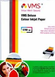 VMS Delux Glossy Photo Paper A4 180 GSM, Number Of Sheets: 20-100 Sheet