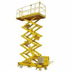 Handy Hydraulic Mobile Powered Lifting Platform Goods Lift
