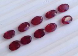 Ruby Oval Gemstone