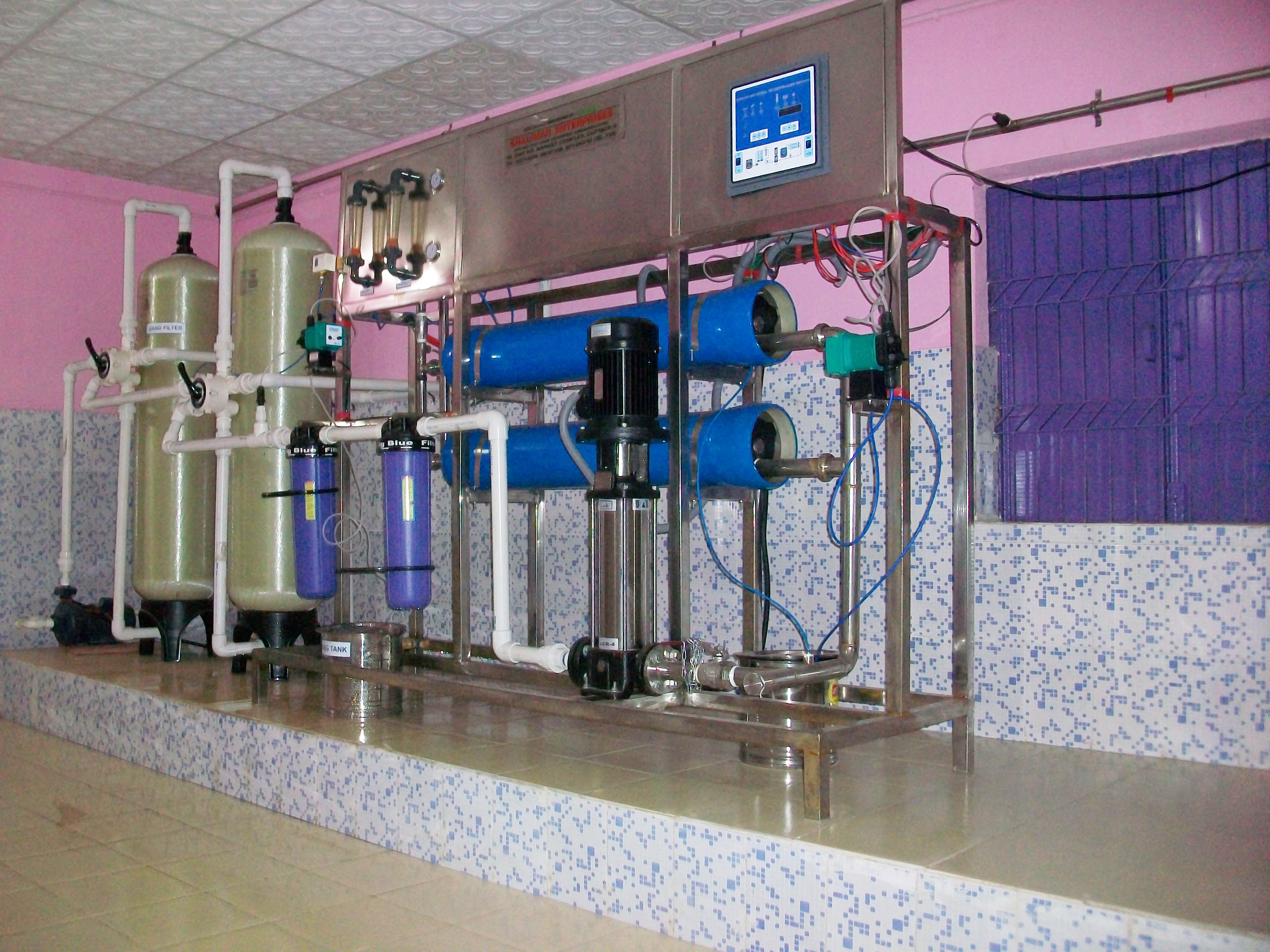 Reverse Osmosis Plant Water RO Plant Healthy Enviro Solutions