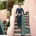 Facny Straigt Cut Salwar Suit