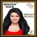 Brown Henna Hair Color