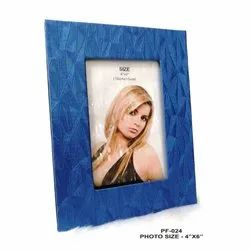 Blue Wooden Photo Frame 4-6