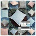 Canvas Cushion Cover