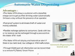 Water ATM