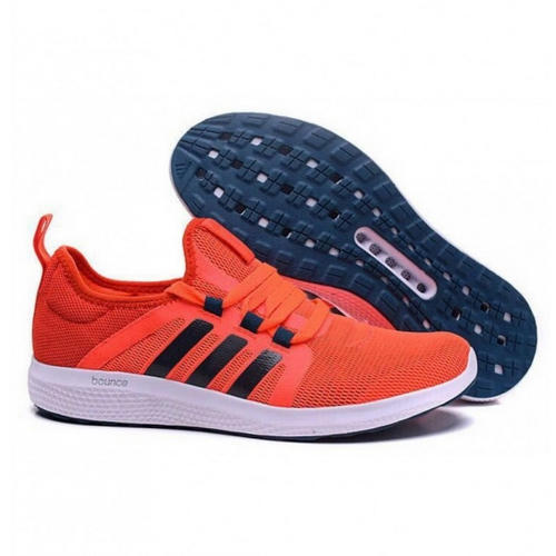 Adidas Bounce Orange White Sports Shoes