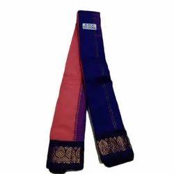Casual Wear Ladies Gadwal Silk Saree, 6.3 Meter