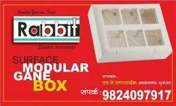 Rectangular 4-Way Rust Free Electrical Boxes