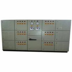 Single Phase Mild Steel Automatic Power Factor Panel, 220 V, Automation Grade: Semi Automatic