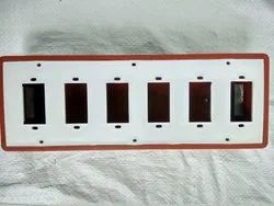 Vinayaka Pvc OPEN BROWN SWITCH BOARDS, For Home & Industry