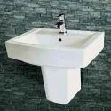 Albus Half Pedestal Wash Basin