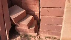 Red Sand Curb Stone