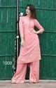 Ladies Pink Fancy Palazzo Suit