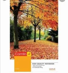 White Paper Camlin Register Notebook 240 Page, For School