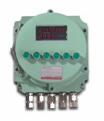 ASHE MX-450 and MX-460 Flameproof  Flow Totalizer Batch Controller