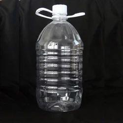 Plastic Transparent 5 Liter Water Bottle, Capacity: 5 Litre