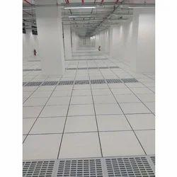Pvc, Steel False Flooring System, Thickness: 35mm