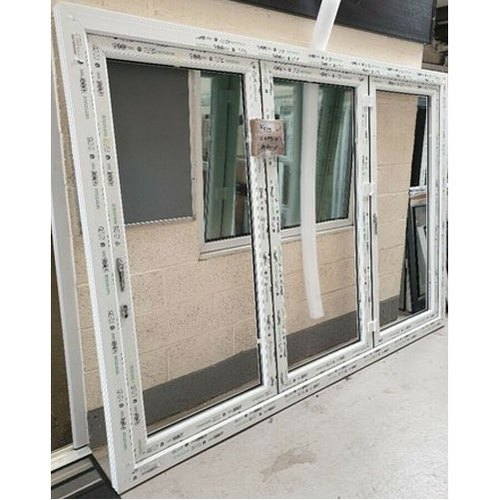 Toughened Glass Upvc Bi Fold Door 4 6 Mm Exterior Rs 450 Square Feet Id 21546439148