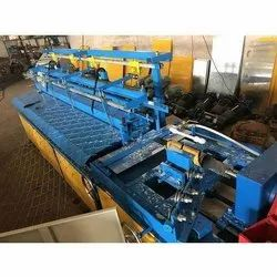 Single Phase Semi Automatic Chain Link Fencing Machine