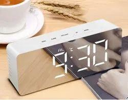LED Mirror Digital Clock