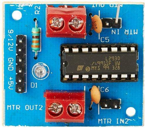 L293D_Motor_Driver_Board L293D Ic Based Dc Motor/Stepper Motor Driver Board