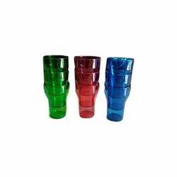 Transparent Plastic Water Glasses