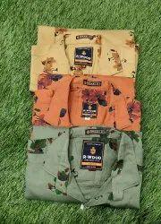 Men's flawer print shirt