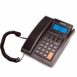 Black Wired M 64 Beetel Corded Landline Phone