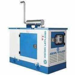 Silent or Soundproof Water Cooling 20 kVA Ashok Leyland Diesel Generator