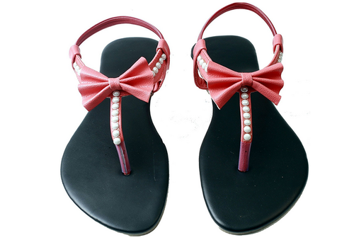 71d1917dd Kart Gold Women Fashion Sandals Sandals Slippers Flats Ladies Slipper,  Size: 28 X 8