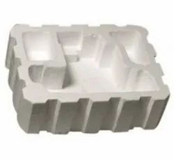 White Normal EPS Die Cut Thermocol Packaging Box For Packing And Domestic Orders