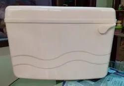 hero Wall Mounted Single Flush Pvc Cistern, Model Name/Number: Aqua, for Toilet