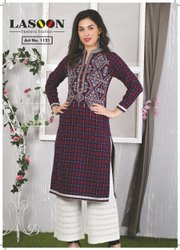 6065 Fancy Woolen Kurties