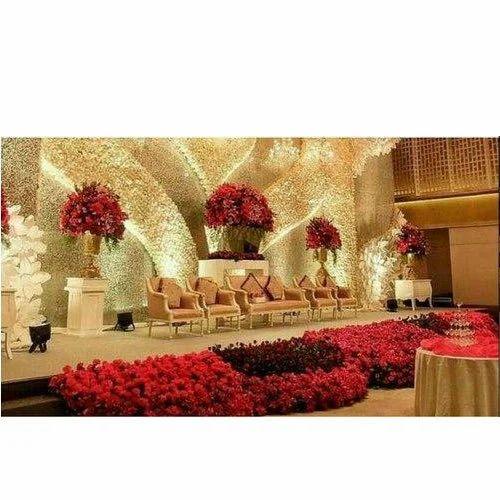 Wedding Reception Stage Decoration Service In Kosapet Vellore