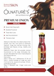 Olnatures Cosmetic Onion Hair Oil, Packaging Size: 200 Ml