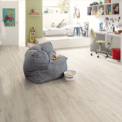 Fiberboard Wooden Flooring, For Home, Thickness: 12 Mm