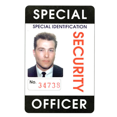 28 14720042591 Security Rs Plastic Multicolor Rectangular Card piece Id Shape
