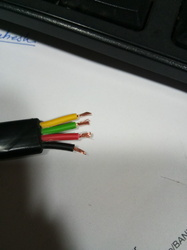 4 Core Submersible Cable 0.5 Sqmm