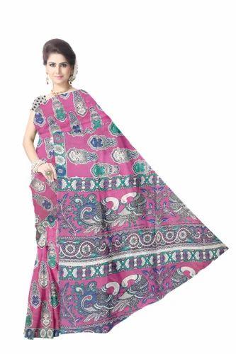 13a3b0fa0a3cd kalamkari Saree at Rs 800  piece