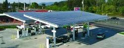 Solar Plant at Petrol Pump