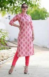 Ladies Formal Rayon Kurti