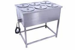 Hot Bain Marie With 6 Tray