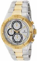 Titan Chronograph Men's Watch, 9308BM01