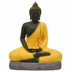 Meditating Buddha Resin Statue
